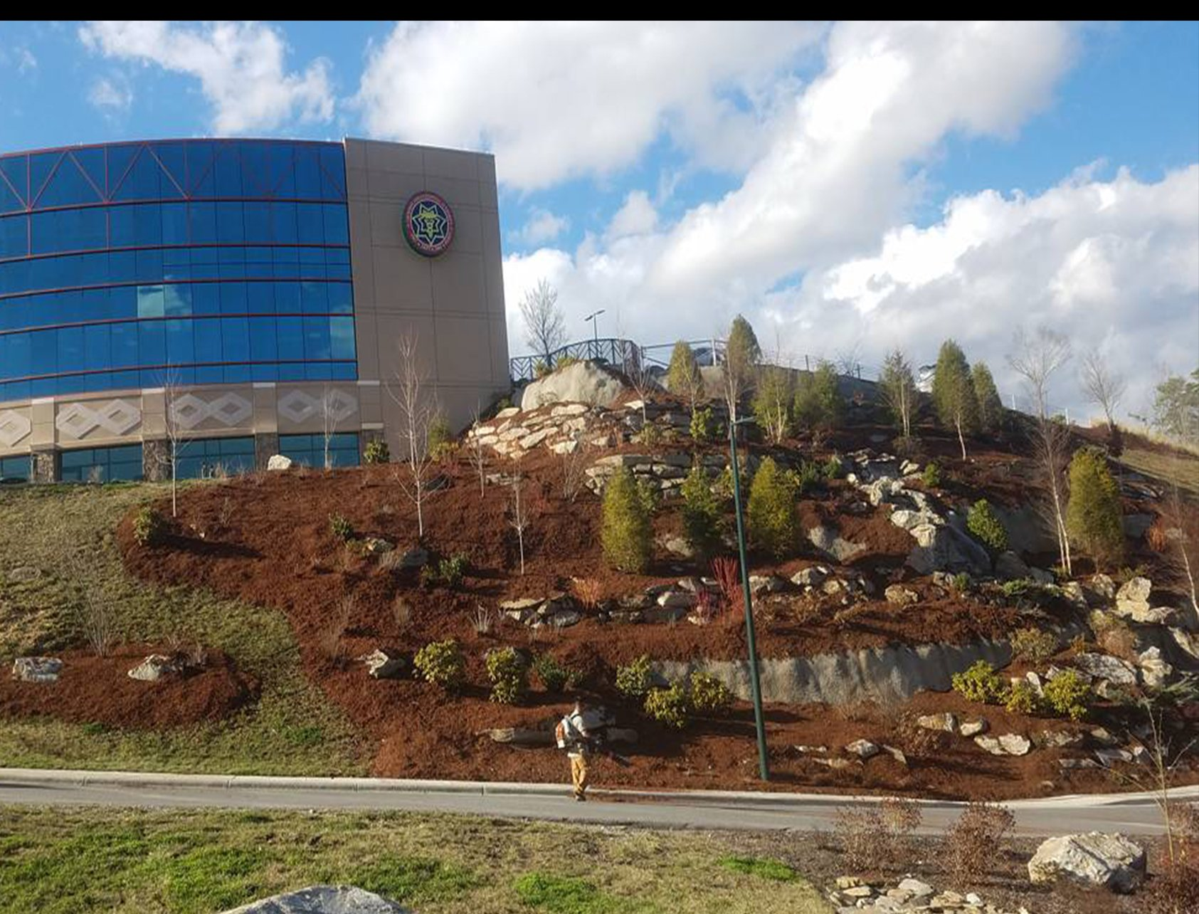 commercial landscaping in WNC